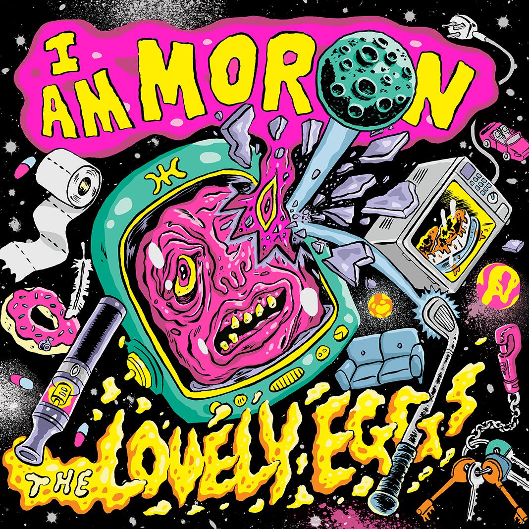 "Pre-order ""I Am Moron"" CD Album"