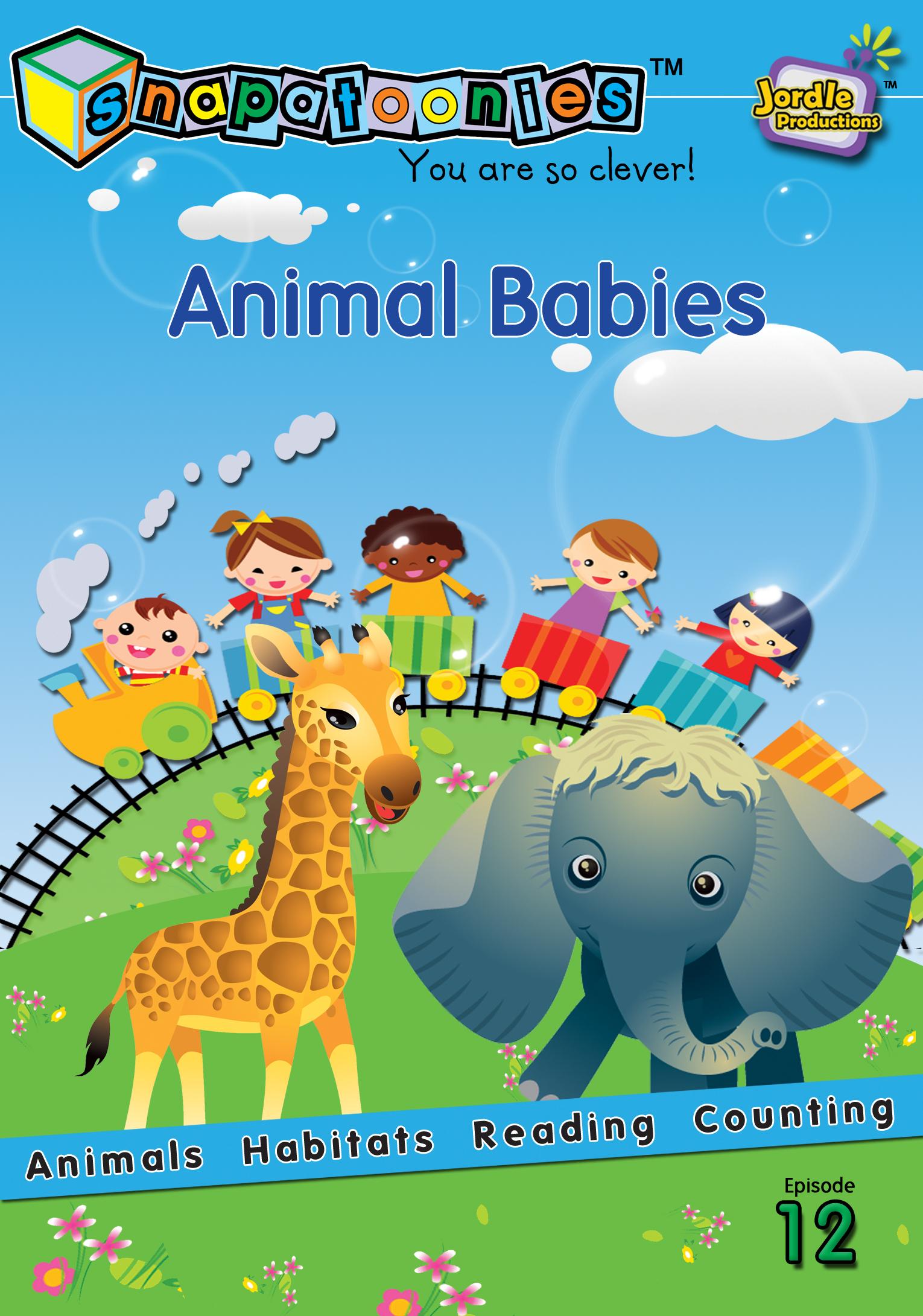 Snapatoonies Animal Babies