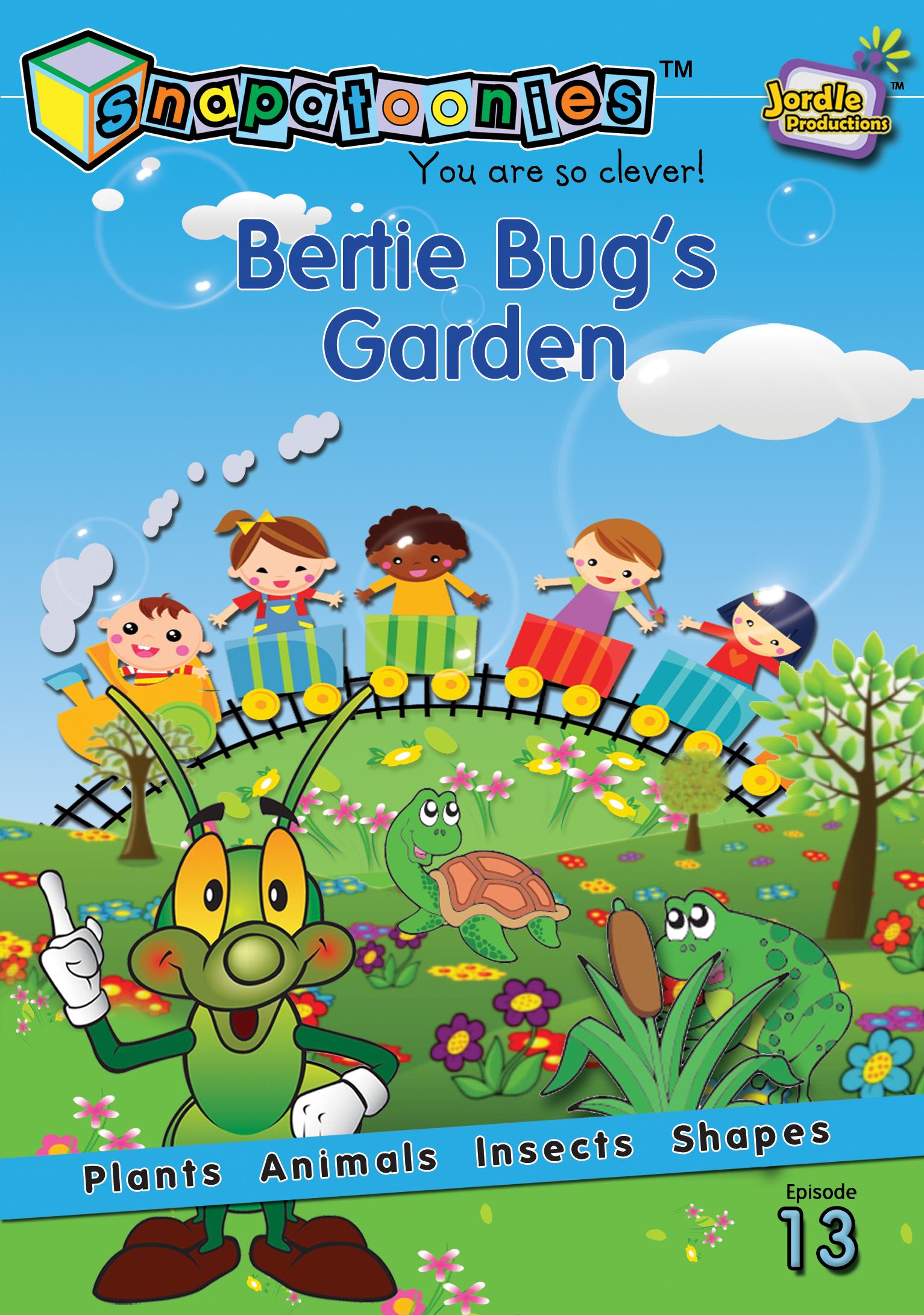 Snapatoonies Bertie Bug's Garden