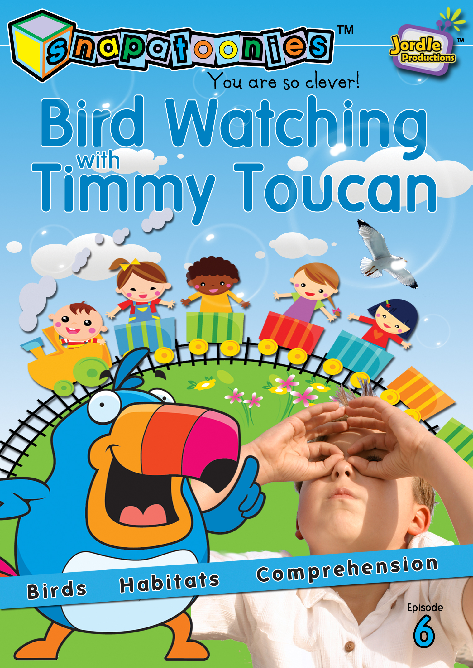 Snapatoonies Birdwatching with Timmy Toucan