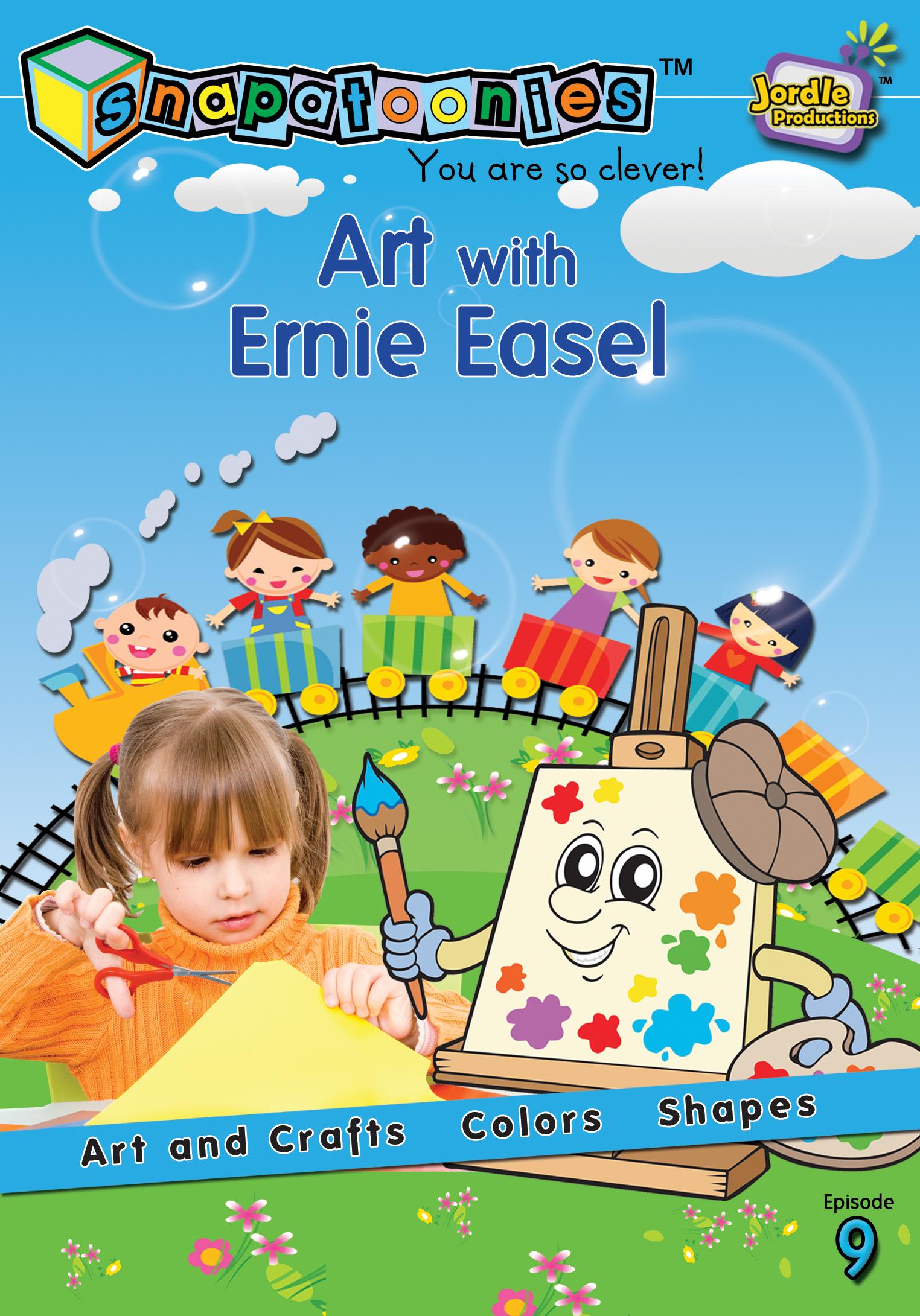 Snapatoonies Art with Ernie Easel